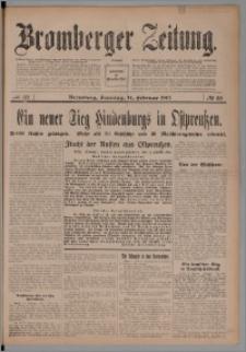 Bromberger Zeitung, 1915, nr 38