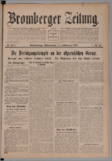 Bromberger Zeitung, 1915, nr 40