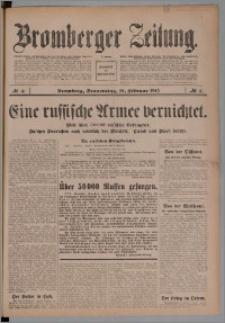 Bromberger Zeitung, 1915, nr 41