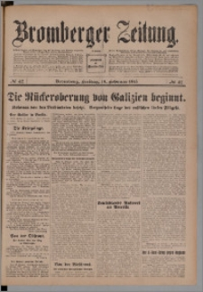 Bromberger Zeitung, 1915, nr 42