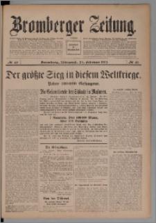 Bromberger Zeitung, 1915, nr 46