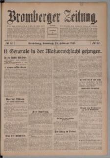 Bromberger Zeitung, 1915, nr 50