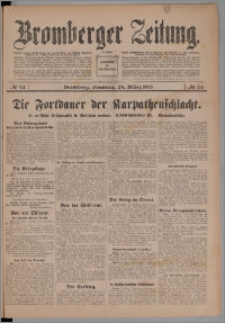 Bromberger Zeitung, 1915, nr 74