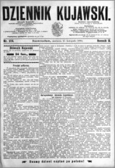 Dziennik Kujawski 1894.11.25 R.2 nr 270
