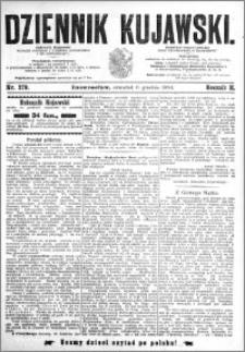 Dziennik Kujawski 1894.12.06 R.2 nr 279