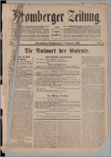 Bromberger Zeitung, 1917, nr 1