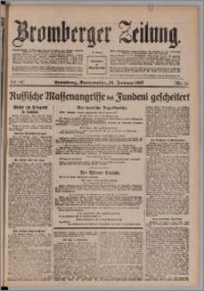 Bromberger Zeitung, 1917, nr 14
