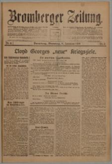 Bromberger Zeitung, 1918, nr 6