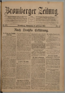 Bromberger Zeitung, 1918, nr 37