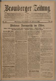 Bromberger Zeitung, 1918, nr 46