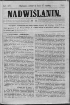 Nadwiślanin, 1862.03.27 R. 13 nr 35