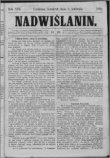 Nadwiślanin, 1862.04.03 R. 13 nr 38