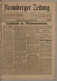 Bromberger Zeitung, 1920, nr 87