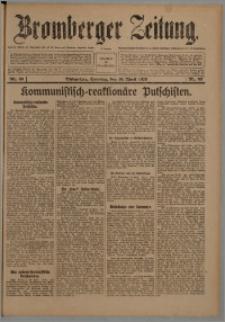 Bromberger Zeitung, 1920, nr 89