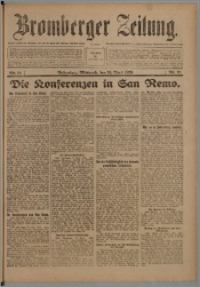 Bromberger Zeitung, 1920, nr 91