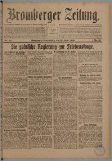 Bromberger Zeitung, 1920, nr 92
