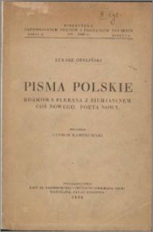 Pisma polskie