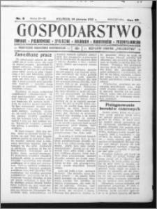 Gospodarstwo, R. 69 (1937), nr 8