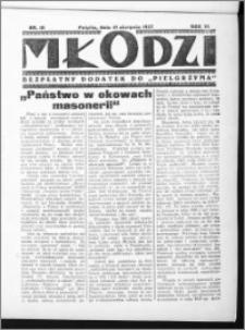 Młodzi, R. VI (1937), nr 10