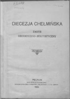 Diecezja chełmińska : zarys historyczno-statystyczny
