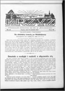 Krzyż, R. 69 (1937), nr 16