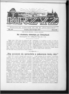 Krzyż, R. 69 (1937), nr 30