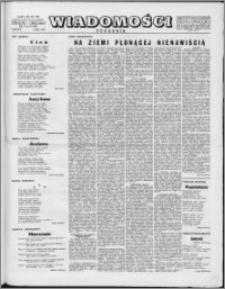Wiadomości, R. 10 nr 27 (483), 1955