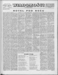 Wiadomości, R. 10 nr 29 (485), 1955