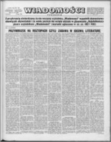 Wiadomości, R. 10 nr 30 (486), 1955