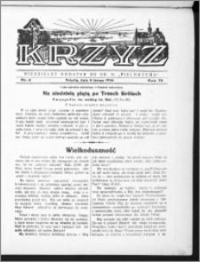 Krzyż, R. 70 (1938), nr 6