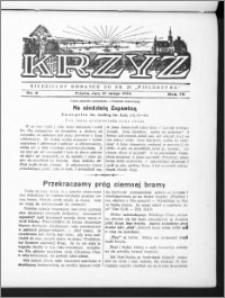 Krzyż, R. 70 (1938), nr 9