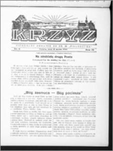 Krzyż, R. 70 (1938), nr 11