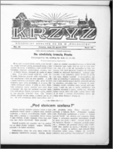 Krzyż, R. 70 (1938), nr 12