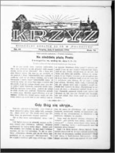Krzyż, R. 70 (1938), nr 14
