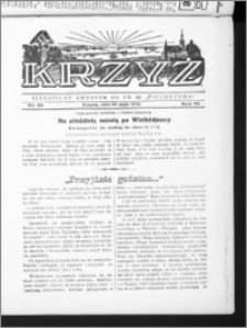 Krzyż, R. 70 (1938), nr 22