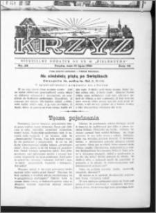 Krzyż, R. 70 (1938), nr 28