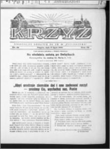 Krzyż, R. 70 (1938), nr 29