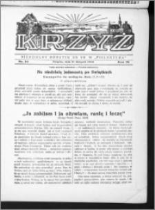 Krzyż, R. 70 (1938), nr 34