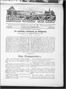 Krzyż, R. 70 (1938), nr 36
