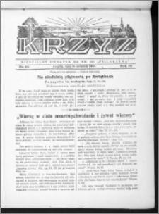 Krzyż, R. 70 (1938), nr 38