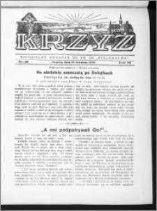 Krzyż, R. 70 (1938), nr 39