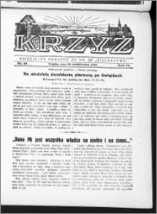 Krzyż, R. 70 (1938), nr 44