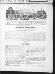 Krzyż, R. 70 (1938), nr 49