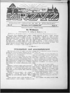 Krzyż, R. 71 (1939), nr 15