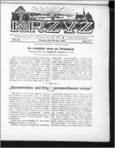 Krzyż, R. 71 (1939), nr 30