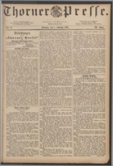 Thorner Presse 1885, Jg. III, Nro. 27