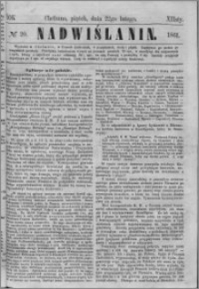 Nadwiślanin, 1861.02.22 R. 12 nr 20