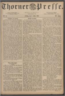 Thorner Presse 1885, Jg. III, Nro. 55
