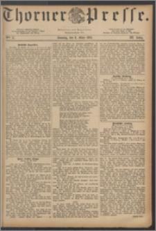 Thorner Presse 1885, Jg. III, Nro. 57