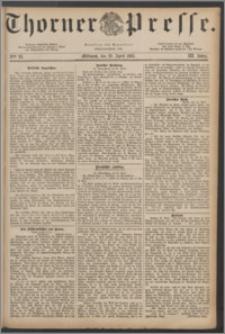 Thorner Presse 1885, Jg. III, Nro. 93